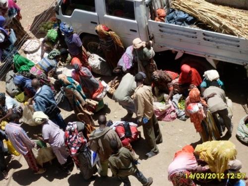 Harar 'christian' market, Ethiopia
